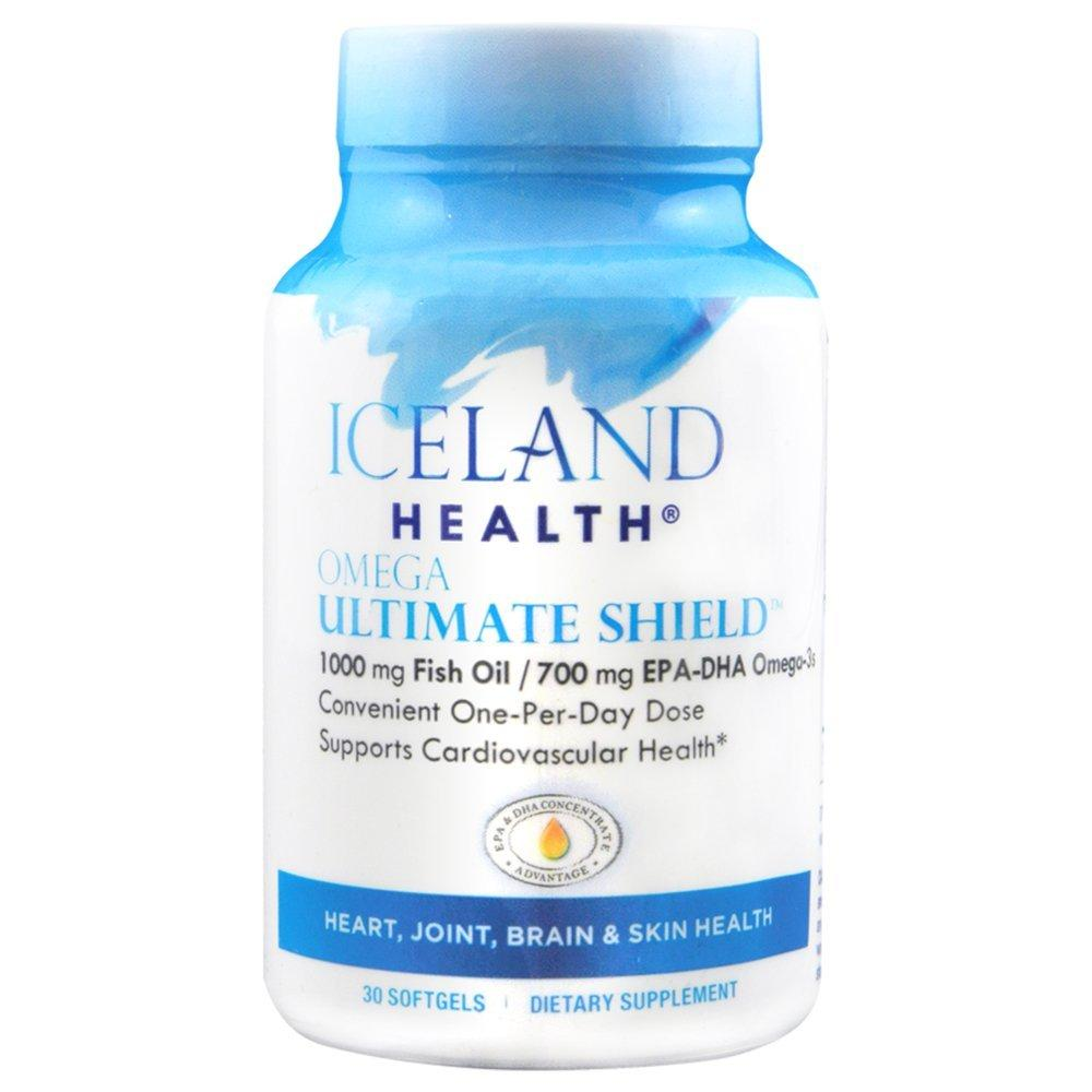 Amazon.com: Iceland Health Omega Ultimate Shield Supplement, 30 Count