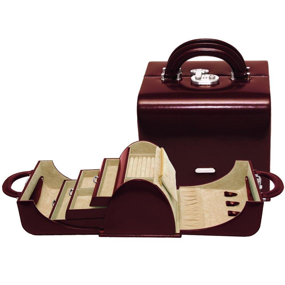 Windrose Classico Schmuckkoffer mit zwei Tragegriffen 2 braun online kaufen