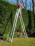 15 Rung 2 Section Combi All-In-One Extension Ladder & Double Sided Step Ladder