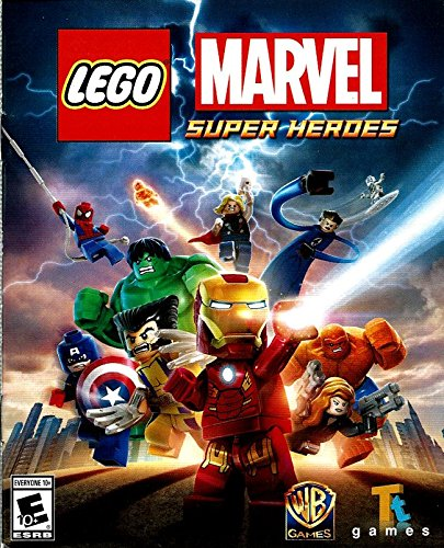 LEGO Marvel Super Heroes PS3 Instruction Booklet (Sony PlayStation 3 Manual ONLY - NO GAME) [Pamphlet ONLY - NO GAME INCLUDED] Play Station (Marvel Superheroes Lego Ps3 compare prices)