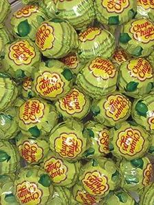 Chupa Chups Lime - 40 Lollipops
