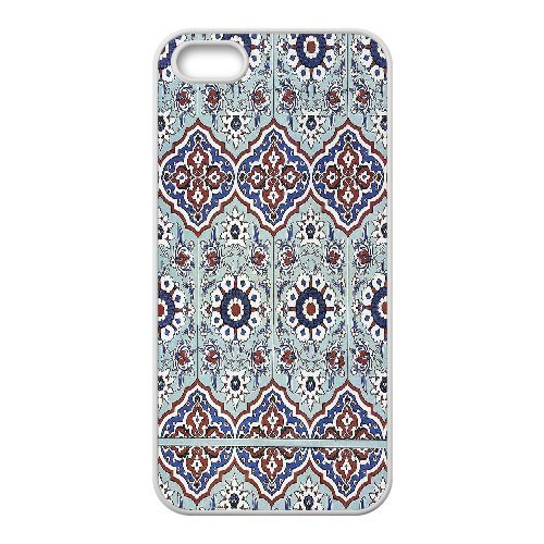 [Mosaics Series] IPhone 5,5S Case Pavilion of Mahubay 16th Century.Mosaics, Kweet - White