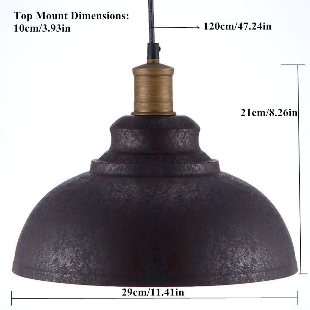 BAYCHEER HL371892 Industrial Retro style Iron 11.8