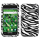 MYBAT SAMT959HPCIM056NP Slim Stylish Protective Cover for Samsung Vibrant/Galaxy S 4G T959 - 1 Pack - Retail Packaging - Zebra Skin