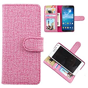 For LG Optimus L5 Dual (E615) / L5 (E612) - DooDa Quality PU Leather Flip Wallet Case Cover With Magnetic Closure, Card & Cash Pockets