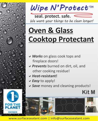 Wipe N'Protect® Oven & Glass Cooktop Protectant Kit M