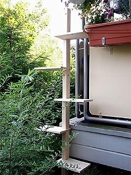 katzenleiter katzentreppe natur katzenbaum katzen. Black Bedroom Furniture Sets. Home Design Ideas