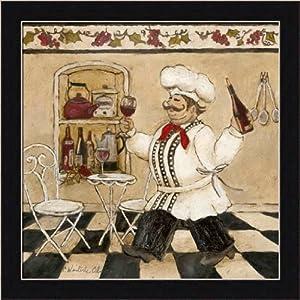 Top chef ii by charlene olson italian chef for Italian kitchen prints