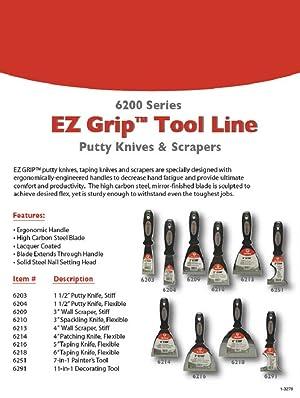 Red Devil 6203EZ 1.5-Inch Stiff Putty Knife (Tamaño: 1.5)