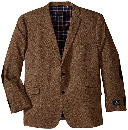 u s polo assn men 39 s big tall wool donegal sport coat brown 50 regular apparel accessories. Black Bedroom Furniture Sets. Home Design Ideas