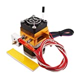 WINSINN 3D Printer MK8 Extruder Hotend Kit Driver Feeder .4mm Nozzle Print Head 1.75mm Filament - RepRap Prusa i3 Bowden Makerbot