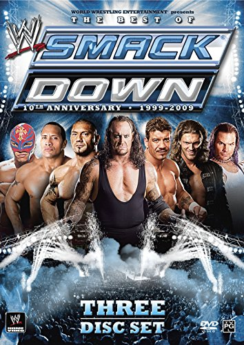 WWE: The Best of SmackDown - 10th Anniversary, 1999-2009 (Wwe Box Set compare prices)