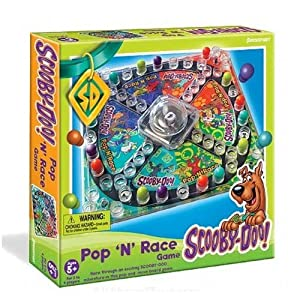 Pressman Scooby Doo Pop 'N' Race