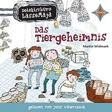 Das Tiergeheimnis (Detektivbüro LasseMaja 4) Hörbuch von Martin Widmark Gesprochen von: Jens Wawrczeck