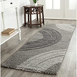 Safavieh Porcello Collection PRL3526A Light Grey Runner, 2 feet 4 inches by 6 feet 7 inches (2\'4\