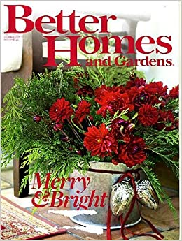 Better Homes And Gardens December 2007 Christmas Issue One Day Decorating With Stephen Saint