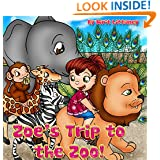 Children's book: Zoe's Trip to the Zoo, Fun zoo book for children, Educational animal book, Bedtime story for kids, beautiful picture book for kids, Children Book ages 3-8, Early reader book.