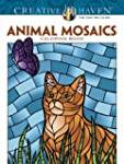 Creative Haven Animals Mosaics Colori...