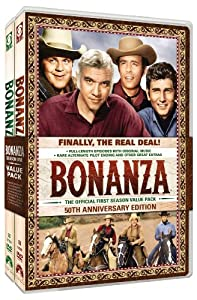 Bonanza: The Complete First Season from Paramount Home Entertainment