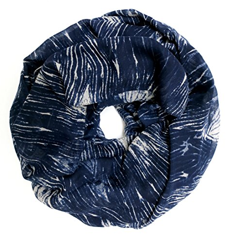 accessu-Echarpe-Foulard-pour-Femme-Aztec-Structure-Design-blue