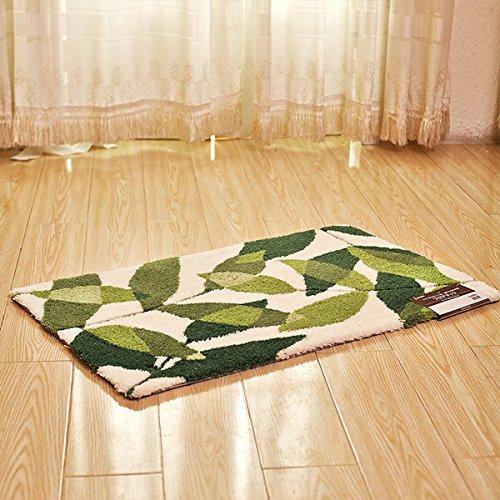 hdwn-verdickung-acryl-latex-rcken-teppich-matte-bltter-fumatte-55-85-80-120-green-and-white-80120