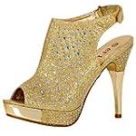 Stacy Womens High Heels Platforms Sho...
