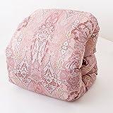 昭和西川 羽毛布団 ポーランド産マザーグースダウン93% 1.1kg シングル ロング MB6961 ピンク
