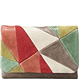 Fossil Jules Trifold in Bright Patchwork