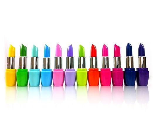 Kleancolor Femme Lipsticks 12 Colors Assorted Lipsticks with Aloe Vera and Vitamin