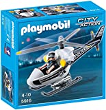 Toy - PLAYMOBIL 5916 - Polizeihubschrauber