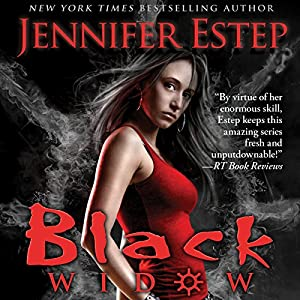 Black Widow: Elemental Assassin, Book 12 (       UNABRIDGED) by Jennifer Estep Narrated by Lauren Fortgang