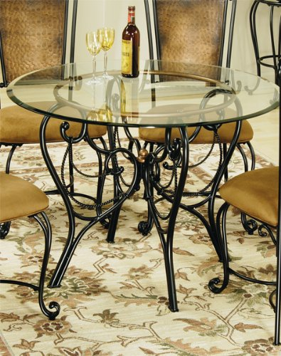 Hillsdale furniture - Hillsdale Milan Dining Table - Copper And Metal