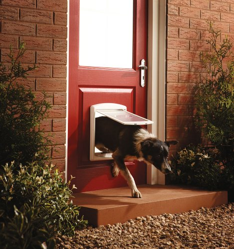 Portillon pour chien petsafe 760 blanc 33 63 for Acheter portillon