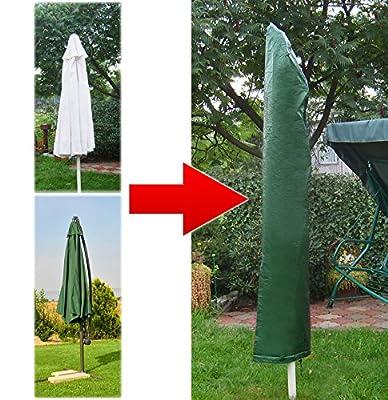 Schutzhülle Sonnenschirm 215x46 cm Schirmhülle Abdeckhaube Schutzhaube Schirm #1273 von Malatec auf Gartenmöbel von Du und Dein Garten