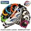 Flexy-Lock-Lace Schnellschn�rsystem, Triathlon-Schn�rsystem (schwarz)
