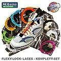 Flexy-Lock-Laces Schnellschn�rsystem, Triathlon-Schn�rsystem