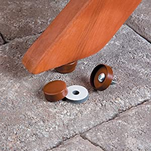 Wood Furniture Glides-20 Pack - Improvements by Improvements