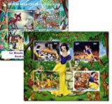 The Disney Classics stamp collection - 2 mint and never mounted sheets of Snow White and Bambi. This collection is exclusive to Stampbank and the stamps have never been hinged.