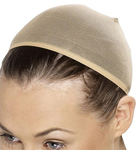 Smiffy's Women's Wig Cap Stretches To Cover Hair, Nude, One Size