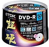 TDK 録画用DVD-R CPRM対応 16倍速対応 ホワイトワイドプリンタブル 超硬シリーズ 日本製 50枚スピンドル DR120HCDPWC50PA