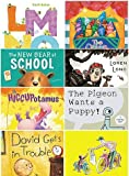 img - for Early Childhood Reader Set of 10 Favorite Classics- Here Comes the Big Mean Dust Bunny, Little Engine That Could, Curious George Rides a Bike, Otis, David Gets in Trouble, Pigeon Wants a Puppy, the Hiccupotamus, New Bear At School, Lmno Peas, Etc book / textbook / text book