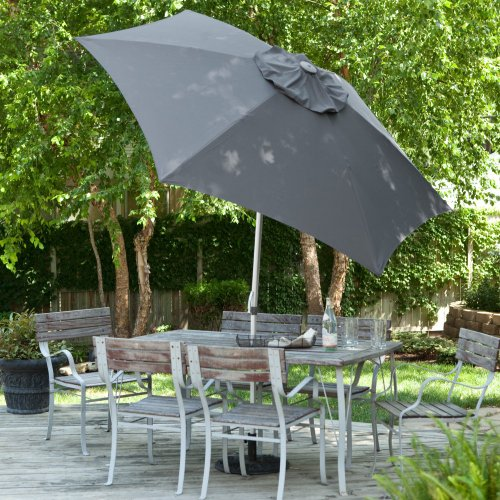 Wind Resistant Doppler 8.5-Ft. Market Umbrella