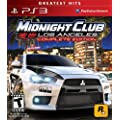 Midnight Club: Los Angeles COMPLETE Sony PS3 Game