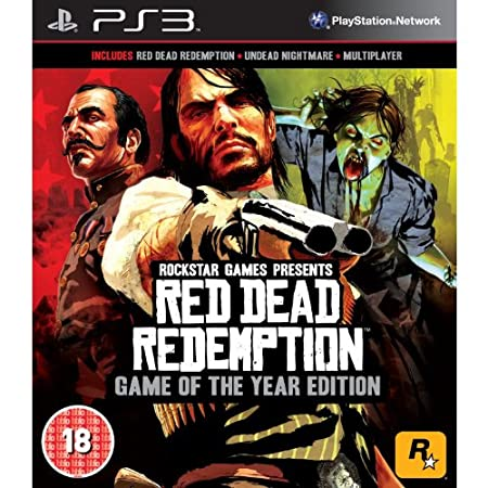 Red Dead Redemption - Game of The Year Edition (PS3) (UK IMPORT)