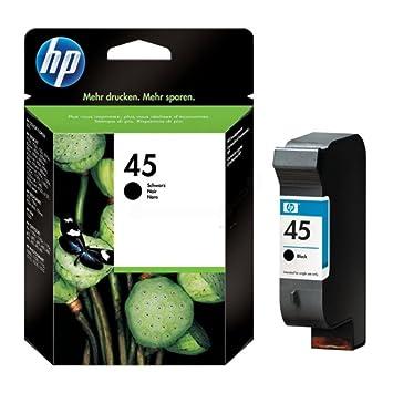 HP - Hewlett Packard DeskJet 815 C (45 / 51645 AE#301) - original - Printhead black - 930 Pages - 42ml