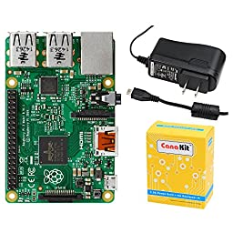 CanaKit Raspberry Pi 2 with 2.5A Micro USB Power Supply (UL Listed)