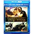 3D Double Feature (Clash of Titans / Wrath of Titans) [Blu-ray 3D + Blu-ray]
