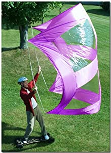 Windpower Super Skate Sail (Purple) by Sailskating