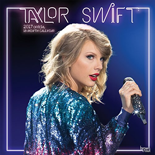 Taylor Swift 2017 - 18-Monatskalender: Original BrownTrout-Kalender (Square Wall)