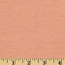 French Terry Knit Peach Fabric By The YD made by Press Textiles